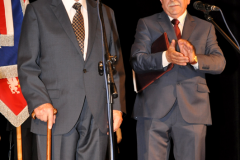 100-lecie miechowskiego LO - Zjazd Absolwentów - dyrektorzy - Ernest Kolano i Zygmunt Dróżdż - fot. K. Capiga