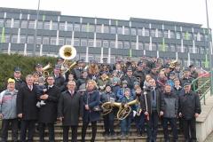 III Orszak Trzech Króli - Miechów 2018 - Noworoczne spotkanie orkiestr dętych