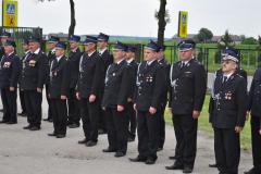 90-lecie OSP Bukowska Wola - druhowie strażacy - miechowski.pl - fot. K. Capiga