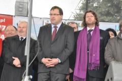 Wybory Chłopa Roku 2016 - goście w tym starosta miechowski Marian Gamrat - fot. Krzysztof Capiga - miechowski.pl