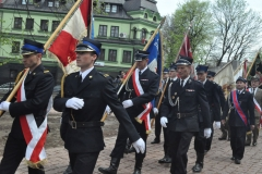 3 Maja w Miechowie - poszty sztandarowe powiatu i miasta - miechowski.pl - fot. Krzysztof Capiga