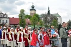 3 Maja w Miechowie - na Rynku - miechowski.pl - fot. Krzysztof Capiga