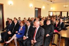 3 Maja w Miechowie - uroczystość w starostwie - miechowski.pl - fot. Krzysztof Capiga