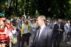 Pola Nadziei 2016 - oficjele na czele z wicewojewodą Piotrem Ćwikiem - miechowski.pl - fot. K. Capiga