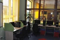 Sala komputerowa - biblioteka w Kozłowie - fot. K.Capiga - miechowski.pl
