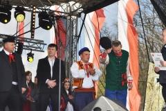 Wybory Chłopa Roku 2017 - prezentacja kandydatów - Kazimierz Jan Szubiński, Sławomir Kowal, Łukasz Arcab, Szymon Płusa - fot. K. Capiga