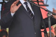 Wybory Chłopa Roku 2017 - przemawiający wicemarszałek Wojciech Kozak - fot. K. Capiga