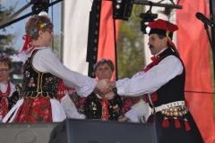 Wybory Chłopa Roku 2017 - Józef Robakowski w tańcu - fot. K. Capiga