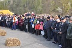 Wybory Chłopa Roku 2017 - slalom z balotami słomy - fot. K. Capiga