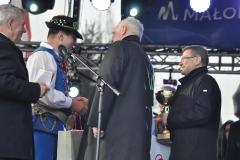 Wybory Chłopa Roku 2017 - rozstrzygnięcie - I miejsce Sławomir Kowal - fot. K. Capiga