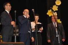 Samorządowy Dzień Edukacji Narodowej - Miechów 2017 - przy mikrofonie Piotr Sowa