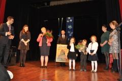 Dzień Edukacji Narodowej - podziękowania dla dyr. Jadwigi Malickiej - miechowski.pl - fot. K. Capiga
