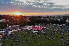 Dni Miechowa 2018 z drona - fot. Grzegorz Górak