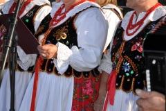 Reprezentacja gminy Książ Wielki na Dożynkach Powiatowych w Przybysławicach - miechowski.pl