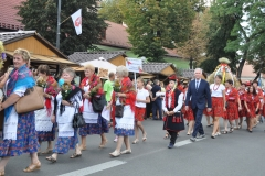 18. Dożynki Województwa Małopolskiego - korowód dożynkowy - miechowski.pl
