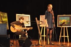 Koncert charytatywny dla Agnieszki Dudek - recital Reginy Warskiej i Piotra Nowaka - fot. Krzysztof Capiga - miechowski.pl