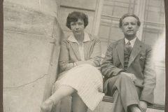 Zofia Starowieyska-Morstinowa z Emilem Zegadłowiczem