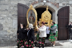 Odpust Parafialny w Książu Wielkim - procesja - feretrony - fot. Krzysztof Capiga - miechowski.pl