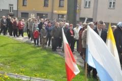 Odpust Parafialny w Książu Wielkim - procesja - wierni - fot. Krzysztof Capiga - miechowski.pl