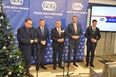 Otwarcie zmodernizowanego Dworca PKP w Miechowie - miechowski.pl - fot. K. Capiga