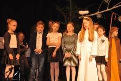 Grupa Jasełkowa z kl. III c Szkoły Podstawowej nr 2 w Miechowie - fot. K. Capiga