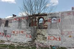 Ruina synagogi w Książu Wielkim - fot. K. Capiga