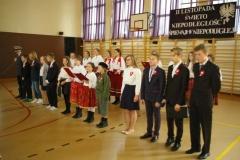 Szkoła Podstawowa w Racławicach - Święto Niepodległości 2017