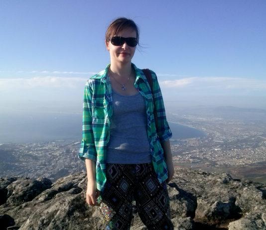 Agata na szczycie Góry Stołowej