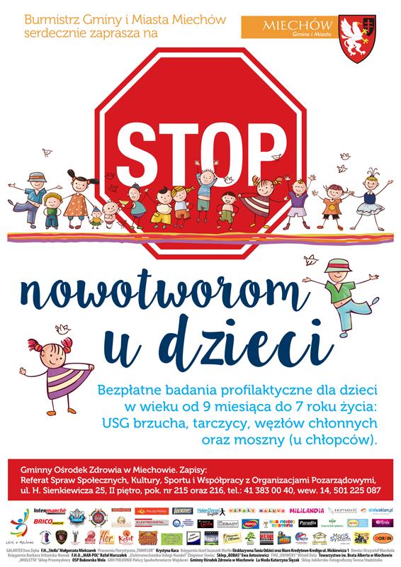 Stop nowotworom u dzieci