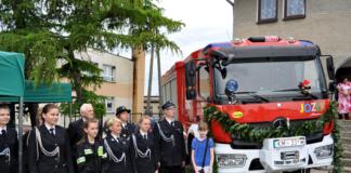 Nowy wóz bojowy OSP Bukowska Wola - miechowski.pl - fot. K. Capiga
