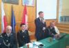 Wicewojewoda Piotr Ćwik na gminnym zjeździe druhów
