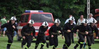 Zwycięska drużyna OSP Moczydło - fot. K. Capiga