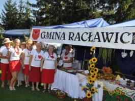 Reprezentacja gminy Racławice na Dożynkach Powiatowych - miechowski.pl