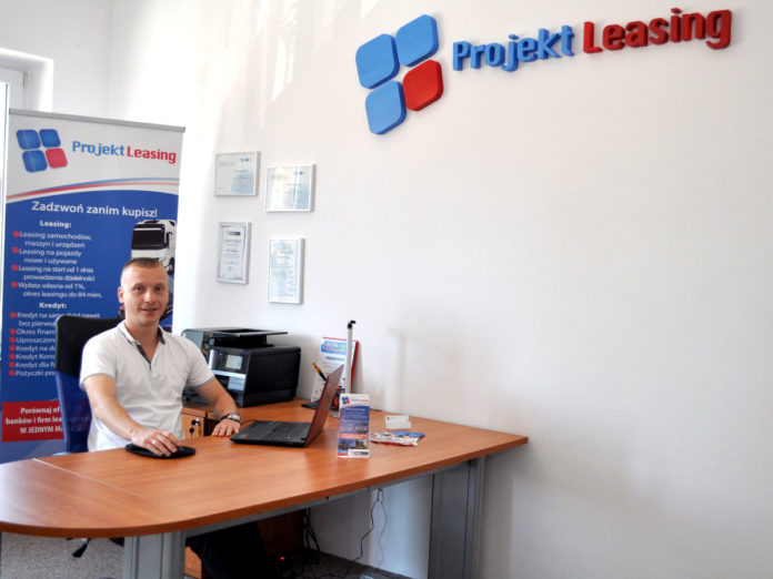 Piotr Tkaczewski - właściciel firmy Projekt Leasing - miechowski.pl