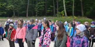 Harcerski Start w lesie w Tunelu - miechowski.pl - fot. K. Capiga