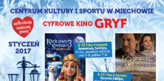 Cyfrowe Kino Gryf Zaprasza w Nowym Roku
