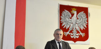 Wójt Adam Samborski (z lewej) wraz z prezydium Rady Gminy Racławice