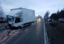 Wypadek w Strzeżowie I - fot. Paweł Siudak