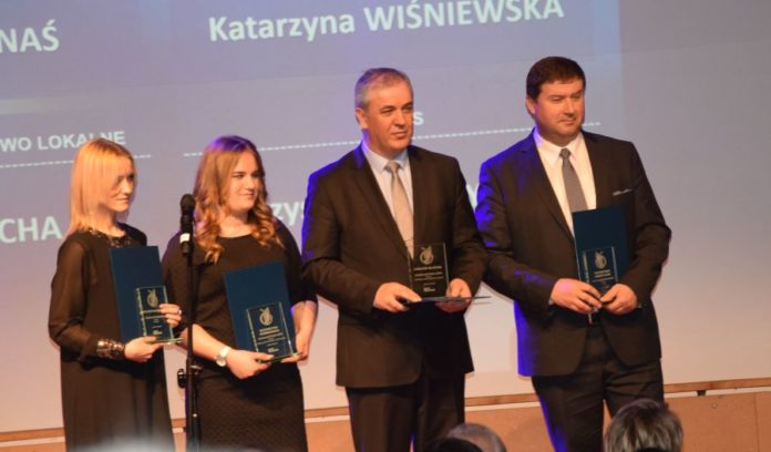 Od lewej: Katarzyna Kornaś, Katarzyna Wiśniewska, Lesław Blacha, Krzysztof Muszyński