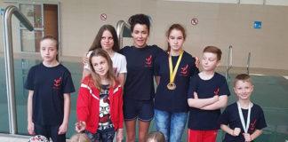 Sekcja pływacka CKiS w Limanowej