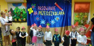"""Pasowanie na Przedszkolaka u """"Wesołych Maluchów"""""""