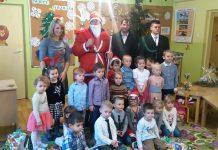 Święty Mikołaj w Punkcie Przedszkolnym w Antolce