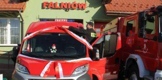 Lekki samochód strażacki dla OSP Falniów