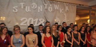 Bal maturalny 2018 uczniów miechowskiego Zespołu Szkół Nr 2 im. Jana Pawła II