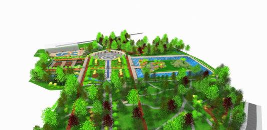 Projekt rewitalizacji Parku Miejskiego w Miechowie