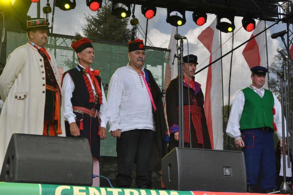 Kandydaci do tytułu Chłopa Roku 2018, od lewej: Stanisław Budzeń, Witold Glanas, Józef Turbiarz, Szymon Płusa, Przemysław Szota
