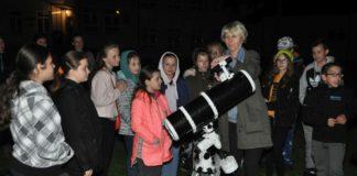Kółko astronomiczne działające w Zespole Szkolno-Przedszkolnym w Książu Wielkim