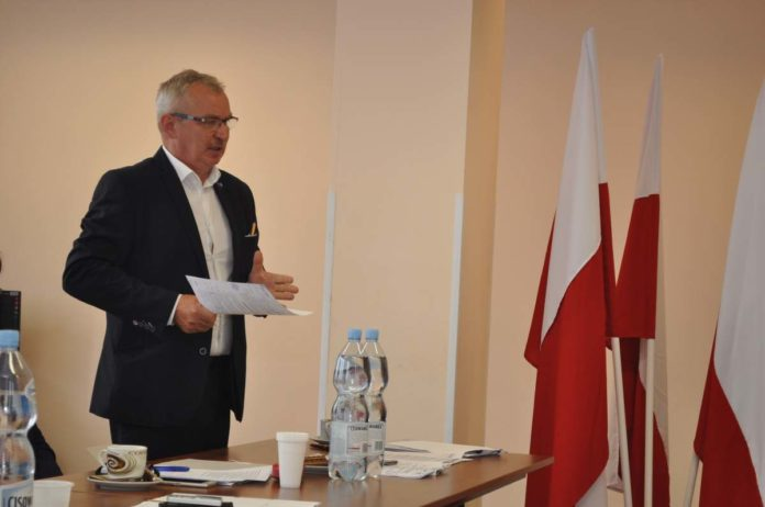 Wójt gminy Charsznica Jan Żebrak