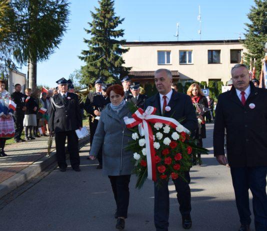 100-lecie Odzyskania Niepodległości przez Polskę - obchody w Gołczy