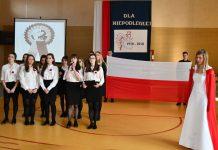 Święto Zespołu Szkół Nr 1 w Miechowie na Stulecie Odzyskania Niepodległości
